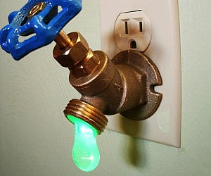 Drippy Faucet Nightlight