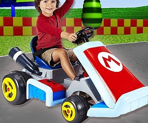 Driveable Super Mario Kart