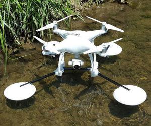 Drone Landing Raft System