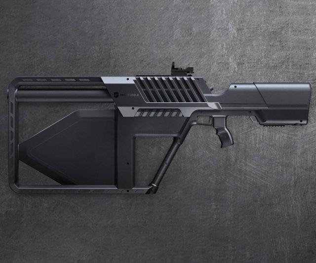 Tactical Drone Jamming Gun