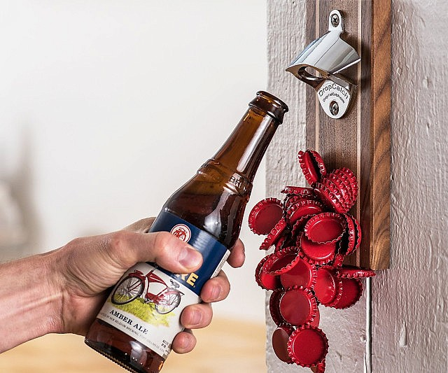 magnetic bottle opener and catcher - Magnetic Bottle Opener