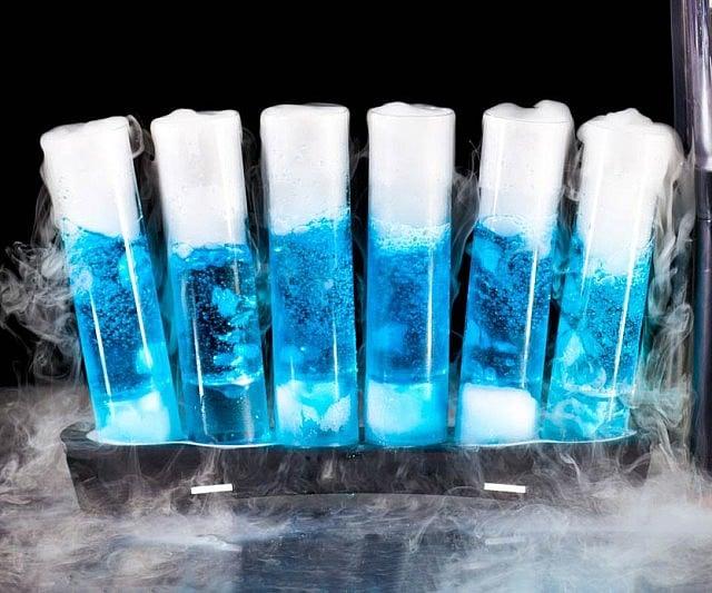 how to create dry ice