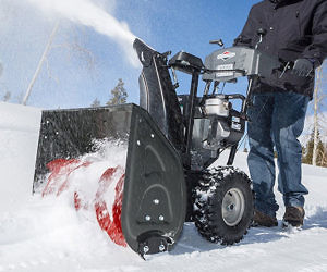 Dual Stage Snow Thrower