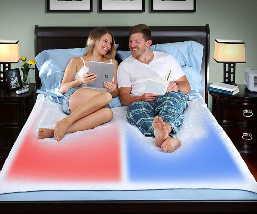 Dual Temperature Control Mattress Pad