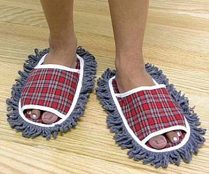 Residue Mopping Slippers