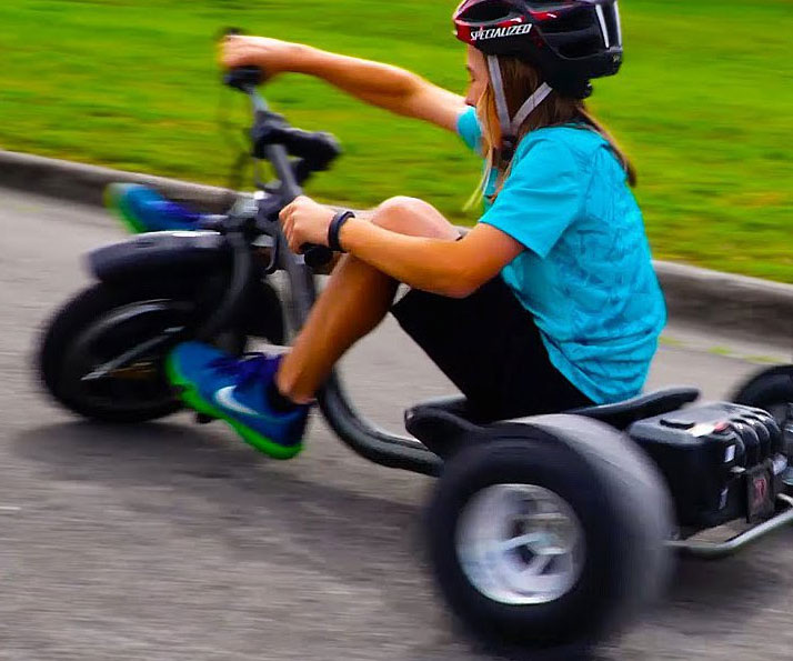 Dynacraft Electric Drifting Tricycle - coolthings.us