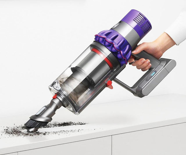 dyson cyclone v10 cordless vacuum. Black Bedroom Furniture Sets. Home Design Ideas