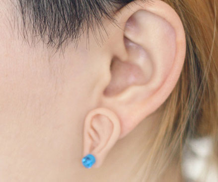 Ear With Earring Ear Crawler Pin Cuff Climber Earring With