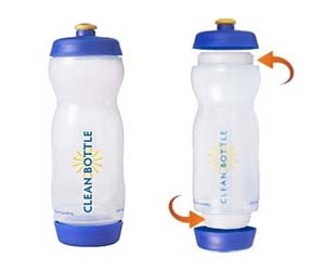 Simple Clean Water Bottle