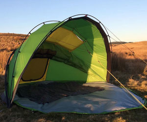 & Easy Open And Close Accordion Tent