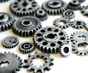 edible chocolate gears