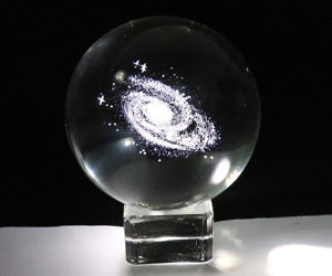 Galaxy In A Crystal Ball