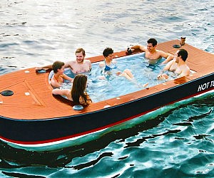 Hot Tub Boat >> Electric Hot Tub Boat