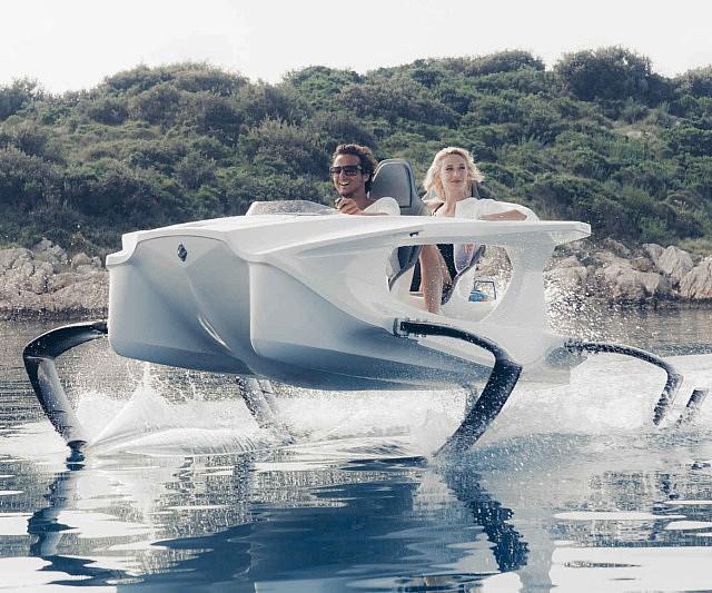 Electric Hydrofoil Boat