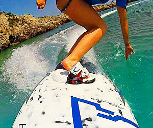 Electric Motorized Surfboard