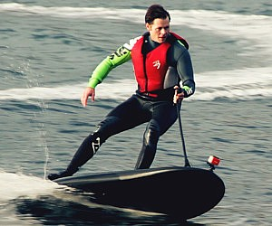 Electric Powered Surf Board