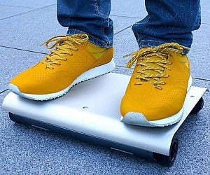 Laptop Shaped Skateboard