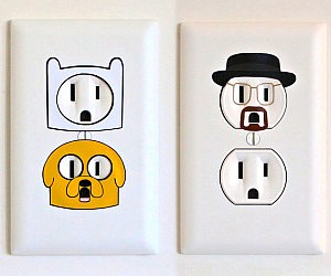 Fabulous Electrical Outlet Stickers