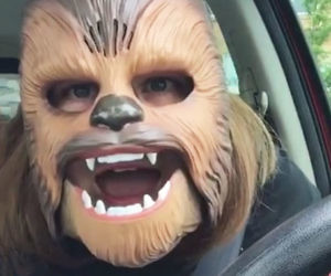 Star Wars Electronic Chewbacca Mask