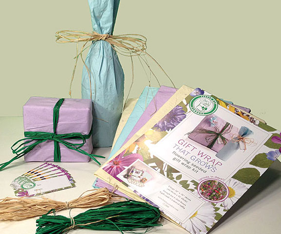 Plantable Flower Seed Wrapping Paper