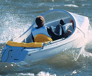 Aerodynamically Designed Pedal Boat