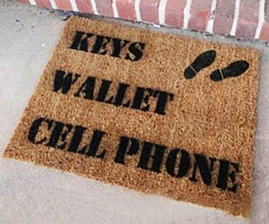 The Essentials Reminder Doormat
