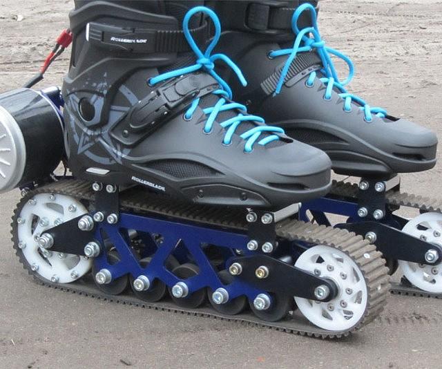 Electric Off-Road Rollerblades ed7e97e4298