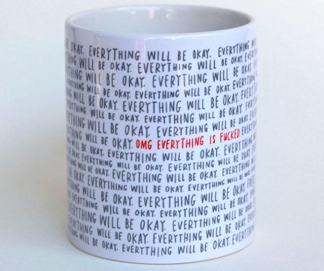 Fucked Fucked Mug Mug Is Is Coffee Everything Everything Coffee Is Fucked Everything USzMLVpqG