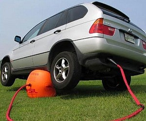 Exhaust Powered Car Jack