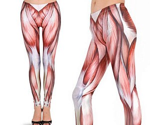 Uncovered Muscles Leggings
