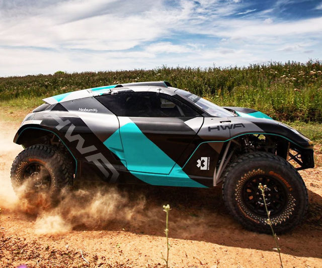 Odyssey 21 Off-Road Electric SUV
