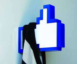 Facebook Like Button Hanger