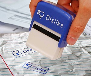 Facebook Like/Dislike Stamps