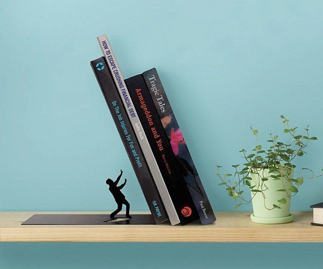 Bookend Falling Bookends Hand Figurines Bookends These