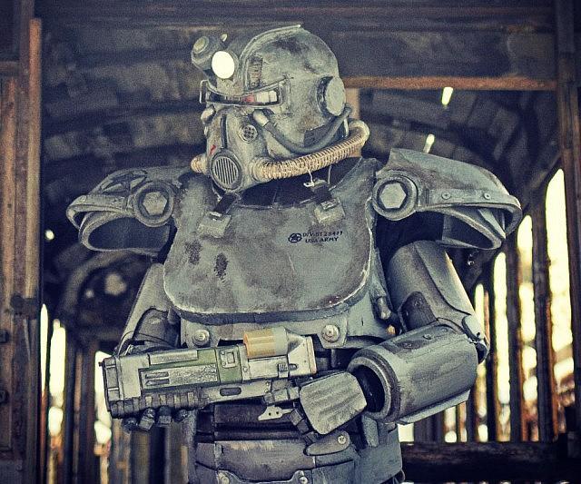 Fallout T 51 Costume Set