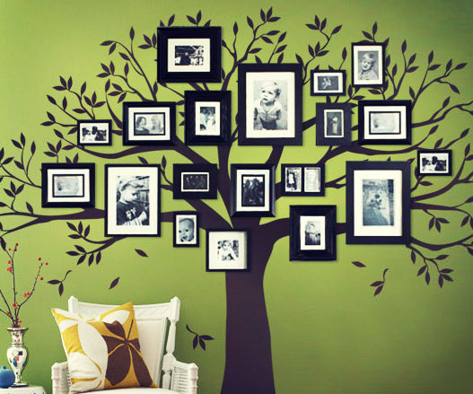Great Family Tree Wall Decal