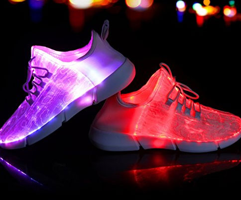 Fiber Optic LED Shoes