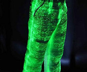 Fiber Optic Light Up Pants