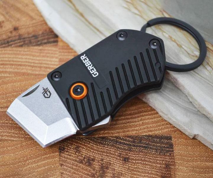 Fine Edge Keychain Knife