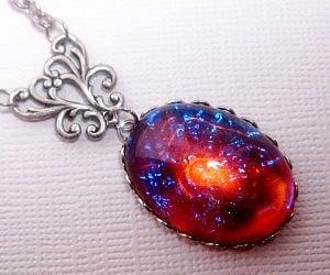 Fire opal necklace pendant 2 300x250g aloadofball Choice Image