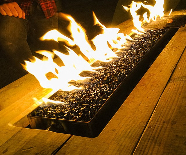 Fire Pit Picnic Table - Fire picnic table