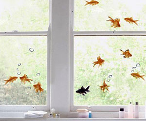 Goldfish Window Decals