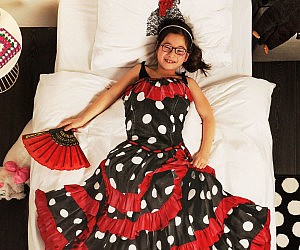 Flamenco Dress Duvet Cover