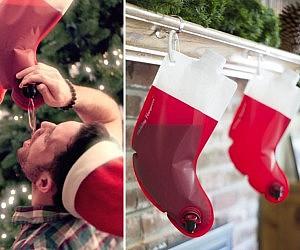 Christmas Stocking Flask