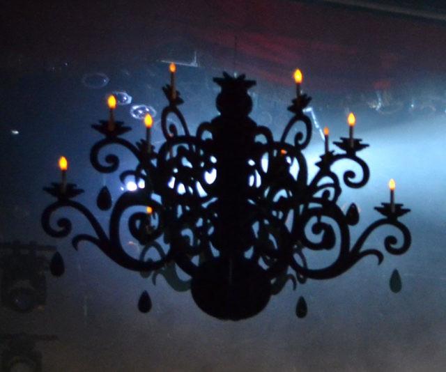 Flat pack plastic chandelier aloadofball Images