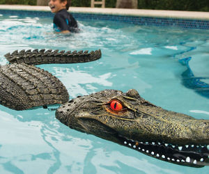 Floating Alligator Pool Toy