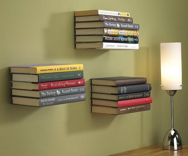 Image result for Floating Bookshelves