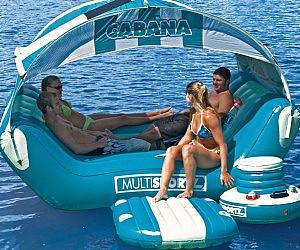 Floating Cabana Island