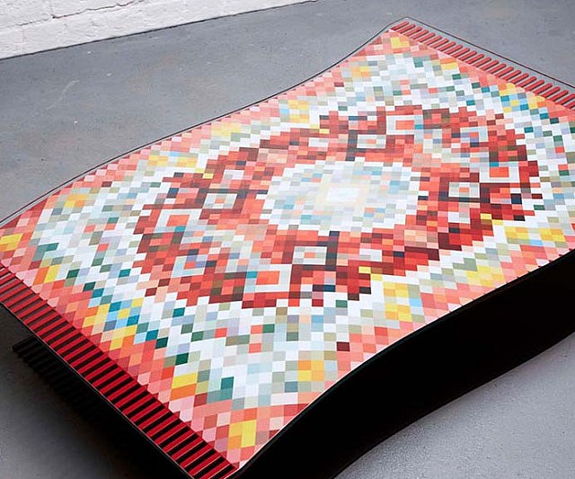 Awesome Flying Carpet Coffee Table