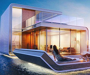 Floating Luxury Home